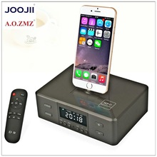 New Mobile Phone Dock with Bluetooth Speaker and Alarm Clocl Radio
