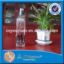 wholesale food grade glass bottle for oil or vinegar 500ml