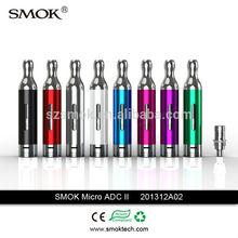 2014 Newest SMOK Pyrex Micro ADC II Rebuildable Bottom Dual Coil Atomizer micro adc II by smoktech