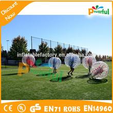 china wholesale durable 100% 1.00mmpvc bumper balls price for sale