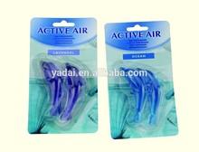 2pk Car plastic dolphin scented air fragrance /Hanging car air freshener