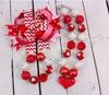 Wholesale Valentine's day kids chunky necklace