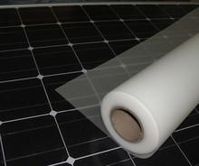 TPT ultra clear glass Tedlar backsheet film with low shrinkage