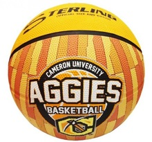 Best seller Size 7 rubber material basketball