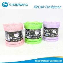 Free Samples Custom Car Air Freshener Odour Eliminating Gel Air Freshener