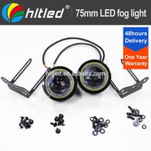 universal 12V cob led fog lamp, led auto fog light kit wit