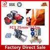 Yida FC3/FC2 25mm*122m black hot print foil on batch number printing machine
