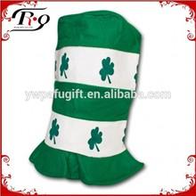 NWT tall velvet St. Patrick's Day hat