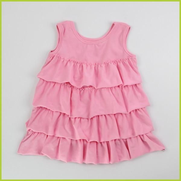 2014 moda casual alta qualidade 3-5 anos de idade menina vestido