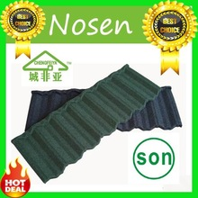 guangdong factory cheap price galvalume stone coated steel roof tile