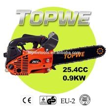 TOPWE tree cutter machine 2500 gasoline chainsaw