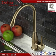 kitchen sink mixer tap, nickel golden faucet sink tap, stainless steel faucet for family cooking,