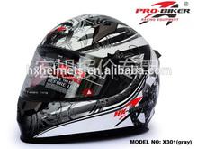Modern Face Motorcycle Helmet Flip Up Helmet Anti-scratch And Anti-fog PC Visor