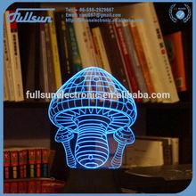 FS-2812 New arrived led bule table lamp wedding decoration lights