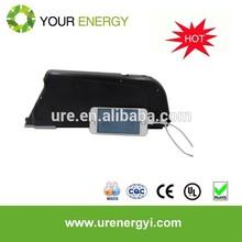 36V 10-15Ah 18650 li-ion battery pack newest bottle case for mountain e bike