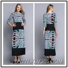 New Fashion Design Women Evening Dress Black Long Maxi Dress China Wholesale