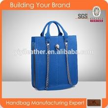 3347 2015 Fashion Blue Women Handbags Real Python Bag Animal Leather Bags