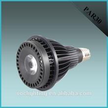 Black or White Aluminum osram led par 30 bulb 20w