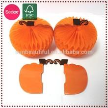 Halloween Orange Pumpkins Decorative Artificial Craft Pumpkins