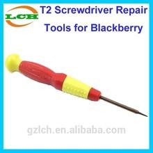 T2 mobile phone repair screwdriver tools for Blackberry