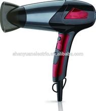 2014 New Mini DC motor 110 - 220V hair dryer familar drying hair hot selling USA