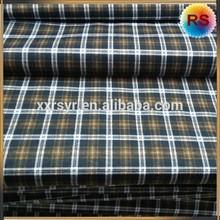100% cotton plaid fabric
