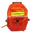 Lona de la mochila de emergencia de lucha contra incendios de herramientas con bandas reflectantes