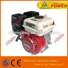 4 stroke 6.5hp OHV gasoline engine 168f-1