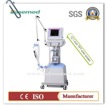 Chinese manufacturer direct high quatily ICU ventilator machine BASE850 with medical air compressor