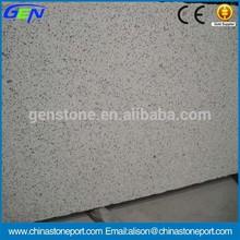 India White Granite Polished Slab Smoothly Edge