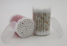 100pcs printing paper coton buds/swabs/ear buds