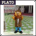 Hot vente costume de mascotte lion mignon, lion de mer costume