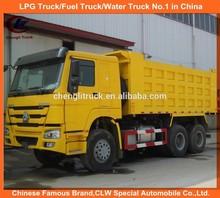 Sinotruk HOWO 6X4 dumper truck with man technology diesel engine