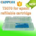 Con bajo precio del cartucho t3070 cartucho de tinta recargables para epson t6941-t6945