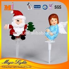 Wholesale Plastic Christmas Cake Decoration