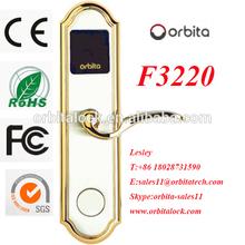 High tech hotel RF card lock ,RF hotel card lock ,digital card lock agent wanted