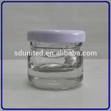 Wholesale empty 10ml mini glass honey jar with cap