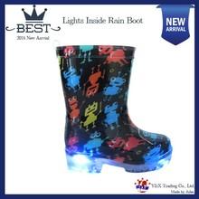 TOP Choice Light Insides First Class PVC Kids Rain Boots