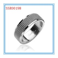 High quality fashion design hot sale wholesale spikes stainless steel ring