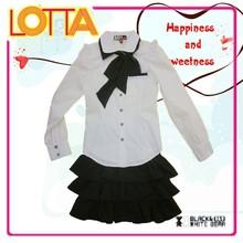 OEM Factory Price Russian Children Girl Shirt School Uniform