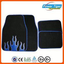 Universal all season anti-slip car floor mat crystal car mat