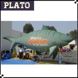 2014 latest design giant advertising inflatable shark,inflatable model