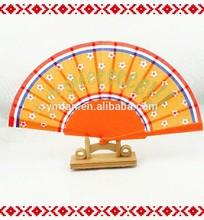 Japanese small plastic hand fan