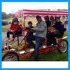 sightseeing adult pedal go kart for family