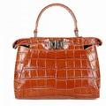 Großhandel 2015 raffinierten Geschmack lager echtem leder handtasche leder reisetasche mit Gurt/leder handtaschen südafrika
