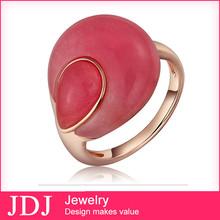 Beautiful Fashion Wholesale Fashion Jewelry Hong Kong Wedding 24 Carat Gold Ring