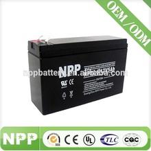 12V 5AH MF battery unit for medical equipment hot sale