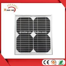 350X250X25MM Size 10w 18v Solar Panel Monocrystalline Silicon