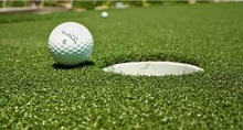 Artificial Turf for Golf Playground Decoration