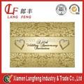 custom cartão convite de casamento de impressão na venda